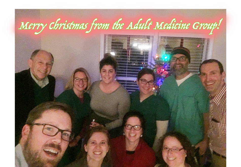 Adult Medicine Christmas Party.2017