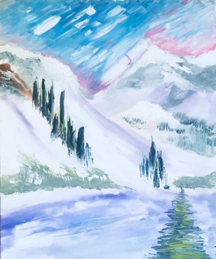 Winter Mountain.1997