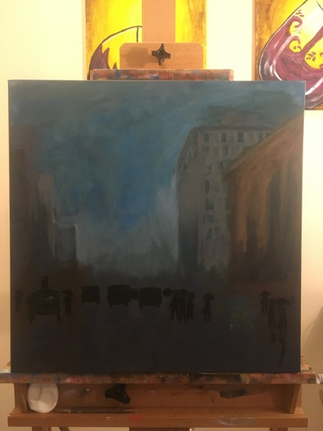 Captuing the Light in the Underpainting
