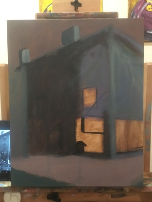 Initial Underpainting